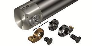Nové tlumené nástroje CoroBore® 825 přispívají k vyšší bezpečnosti a produktivitě – Zvýšení bezpečnosti díky tlumicímu systému Silent Tools™ a kratším a lehčím vyvrtávacím hlavám