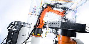 Digitální management svařovacích dat v robotické výrobě