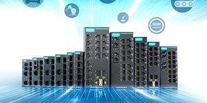 Moxa představuje novou skupinu průmyslových ethernetových nemanažovatelných switchů, které pomáhají snadno rozšiřovat spolehlivé sítě