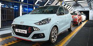 Hyundai spouští v Evropě výrobu zcela nového modelu i10 N Line