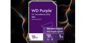 Western Digital posiluje rostoucí trh záznamových video systémů s umělou inteligencí a rozšiřuje produktovou řadu WD Purple