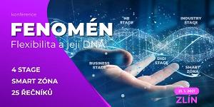 Zlín bude hostit 3. ročník konference Fenomén, tentokrát s názvem Flexibilita a její DNA