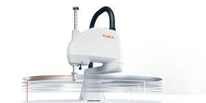Novinkou společnosti KUKA je velmi rychlý a kompaktní robot KR SCARA