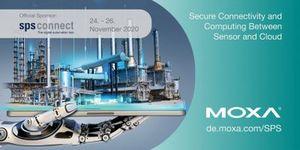 Bezpečná konektivita a výpočty mezi senzory a cloudem: Moxa na sps connect 2020