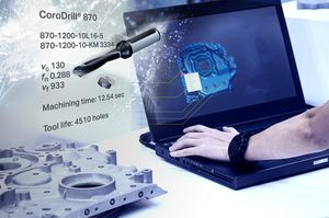Společnost Sandvik Coromant informovala o propojení s aplikací Fusion 360 firmy Autodesk v oblasti obrábění kovů