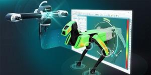 Speciální rozhraní PolyWorks pro skenery se strukturovaným světlem