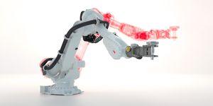 Nová funkce simulování brzdné dráhy pro vyšší úroveň bezpečnosti a snížení zástavbové plochy robotické buňky až o 25 %