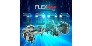 Systém HRSflow s válci poháněnými elektrickými servomotory přesvědčil zákazníky:  Po celém světě se prodalo více než 1000 systémů