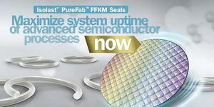 Společnost Trelleborg Sealing Solutions uvádí na trh čtyři nejlepší materiály na bázi FFKM určené pro nejkritičtější těsnicí aplikace polovodičového průmyslu