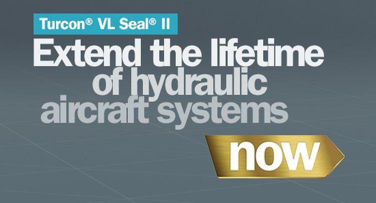 Společnost Trelleborg Sealing Solutions Aerospace uvádí na trh jedinečný a revoluční těsnicí prvek Turcon® VL Seal® II, který je možné použít do hydraulických systémů letadel