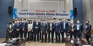 Představitelé českého průmyslu jednali v Jižní Koreji o možné spolupráci na dostavbě jaderných bloků v ČR