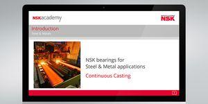 V akademii NSK byl zpřístupněn on-line školicí modul pro kontinuální lití