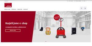 Linde Material Handling otevírá e-shop manipulační techniky a příslušenství