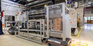 Autonomní mobilní roboty MiR transformují logistiku ve výrobním zařízení TE Connectivity