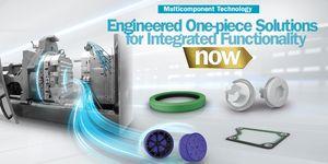 Vícekomponentní technologie, které přináší více funkcí do jedné konstrukční části od společnosti Trelleborg