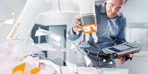 Budoucí operační systém firmy KUKA představuje začátek nové etapy v robotice