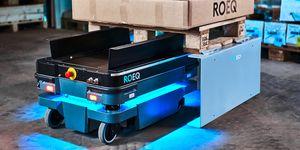 ROEQ uvádí nové produkty pro zvýšení nosnosti mobilních robotů a zlepšení manipulace s nákladem