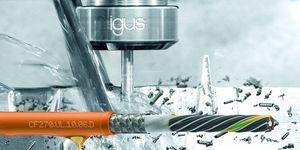 Nový kabel chainflex pro vyšší spolehlivost strojů s pohony Fanuc